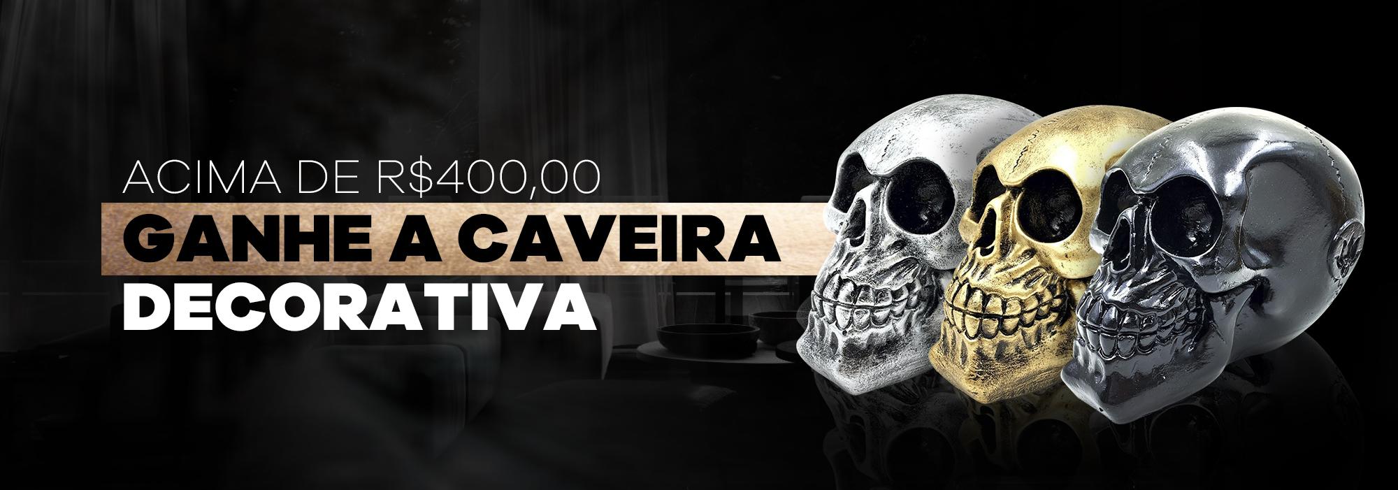 CAVEIRAS DECORATIVAS