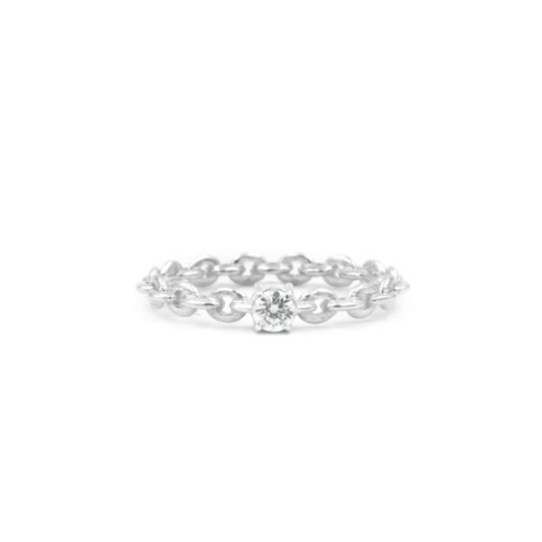 Anel de Prata Diamonds
