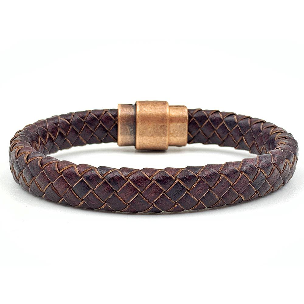 Pulseira Masculina Armory Leather