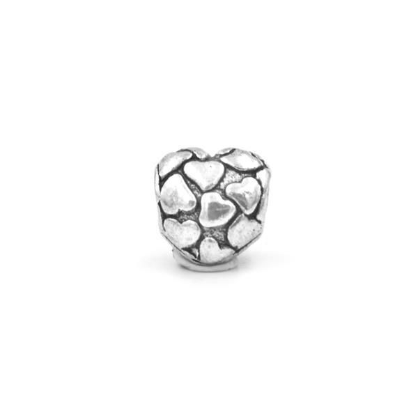 Berloque Charm Pandora Inspired Big Heart