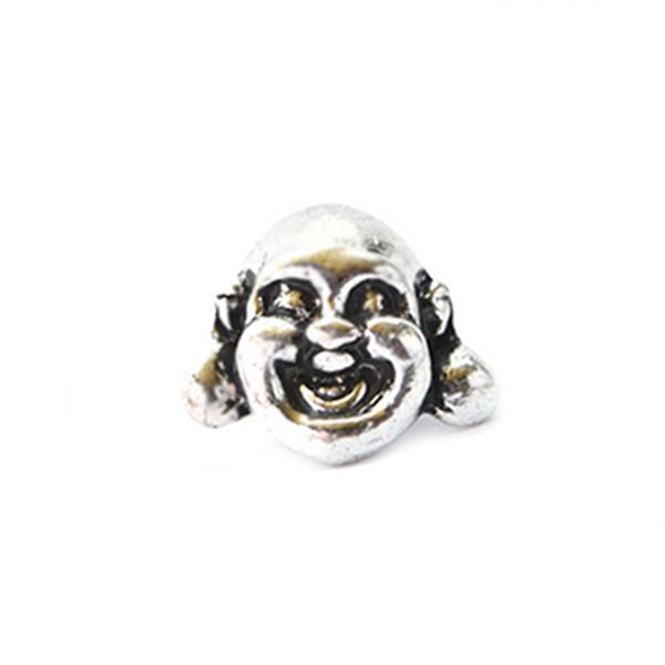 Berloque Charm Pandora Inspired Buddha Face