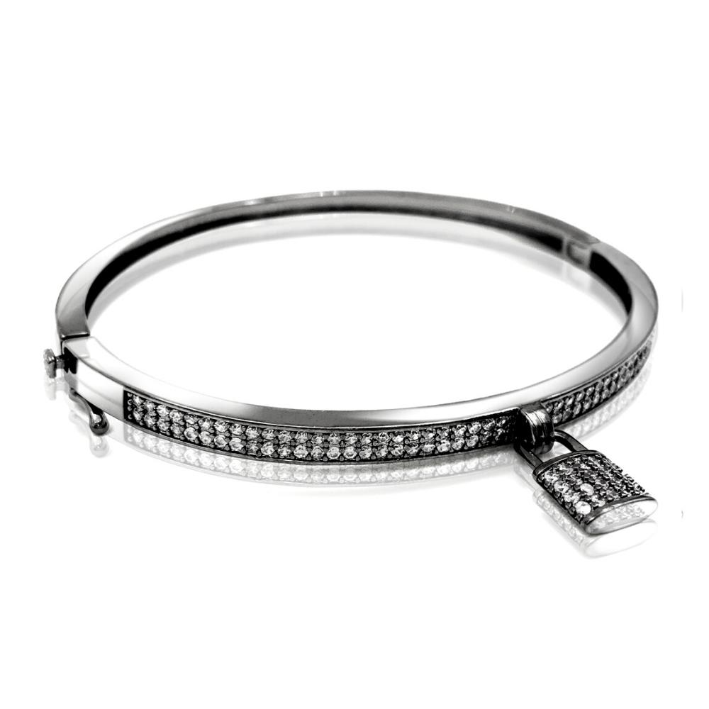 Bracelete Diamond Locker Black
