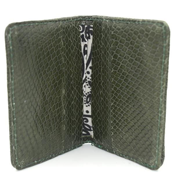 Carteira Masculina Green Snake