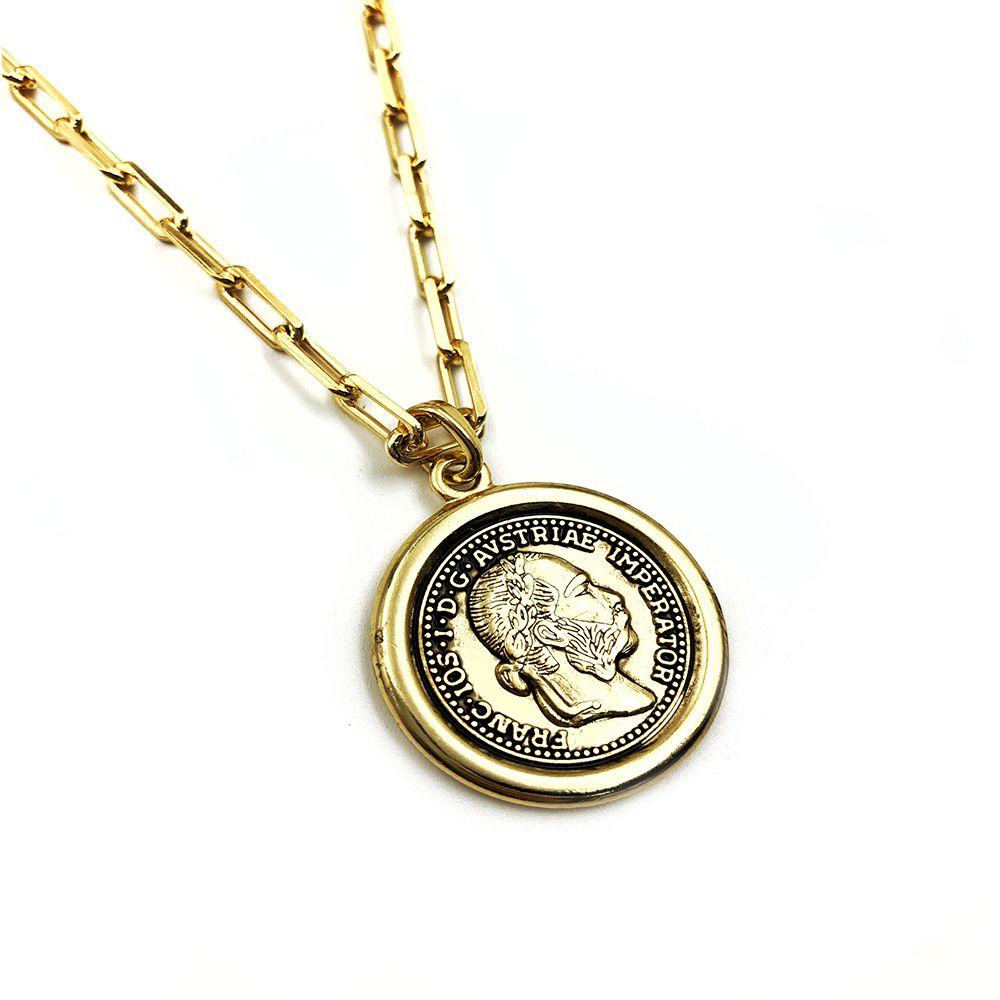 Colar Cartier Ducado Dourada