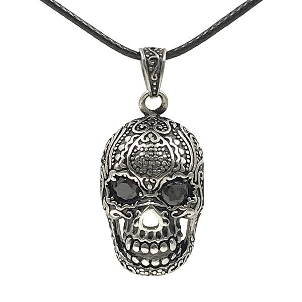 Colar Mexican Skull Malha