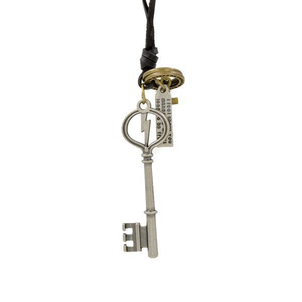 Colar Silver key