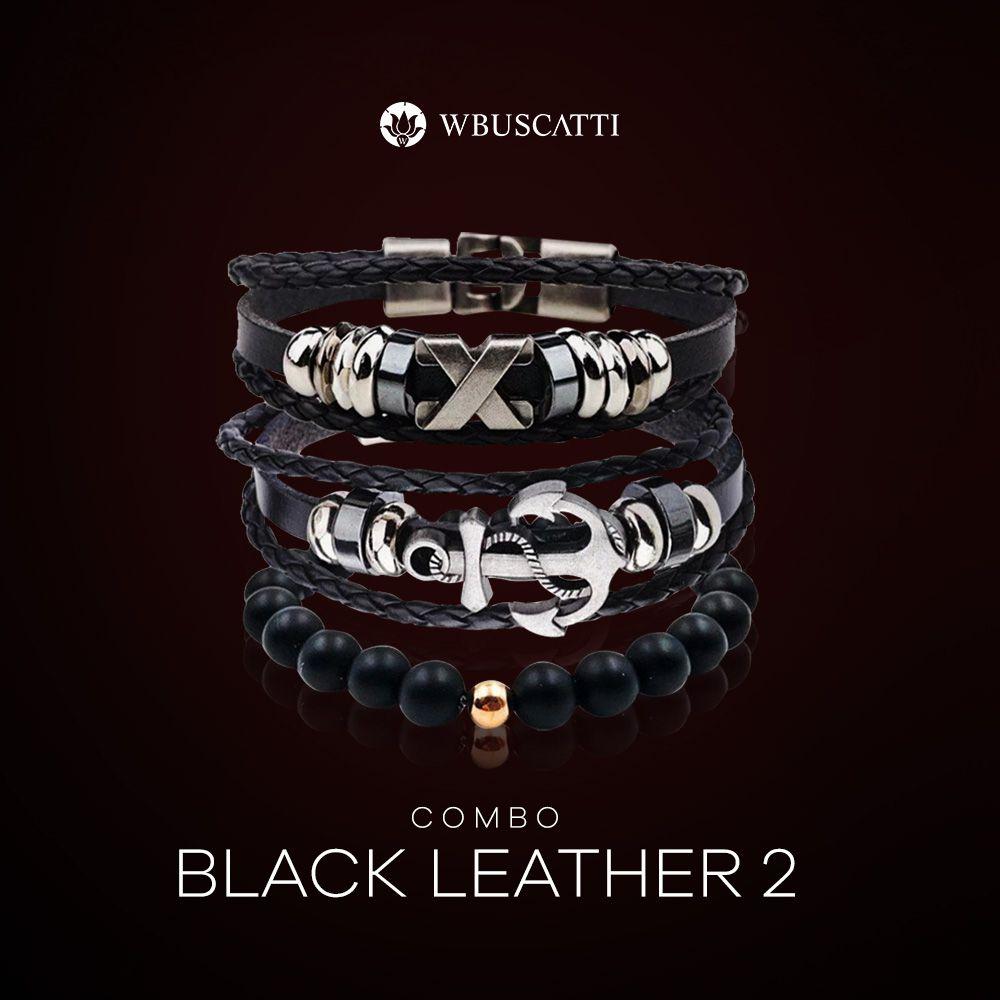 Combo Masculino Black Leather 2