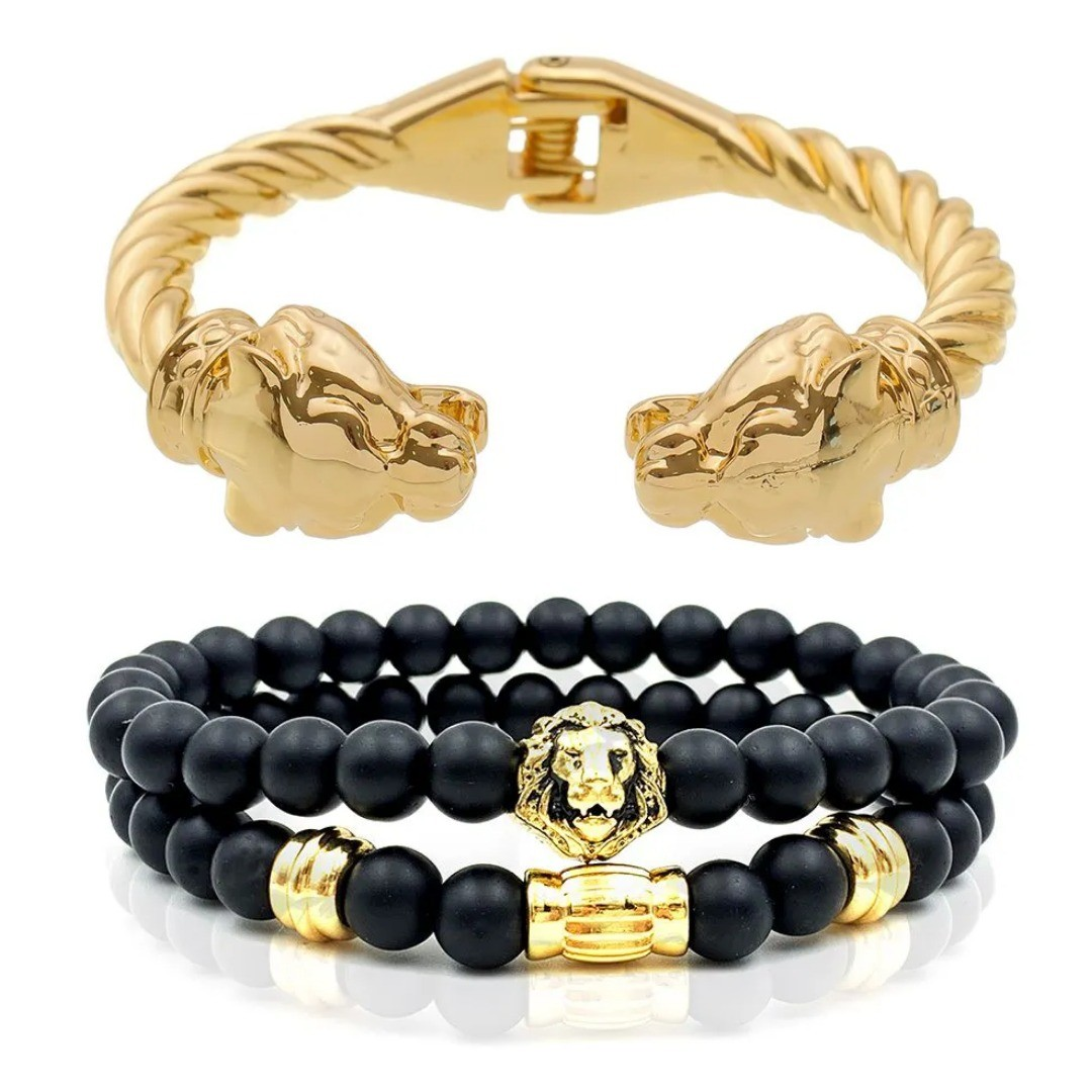 Combo Masculino Lion Gold