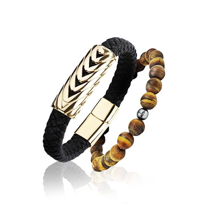 Combo Masculino Serpenti Gold