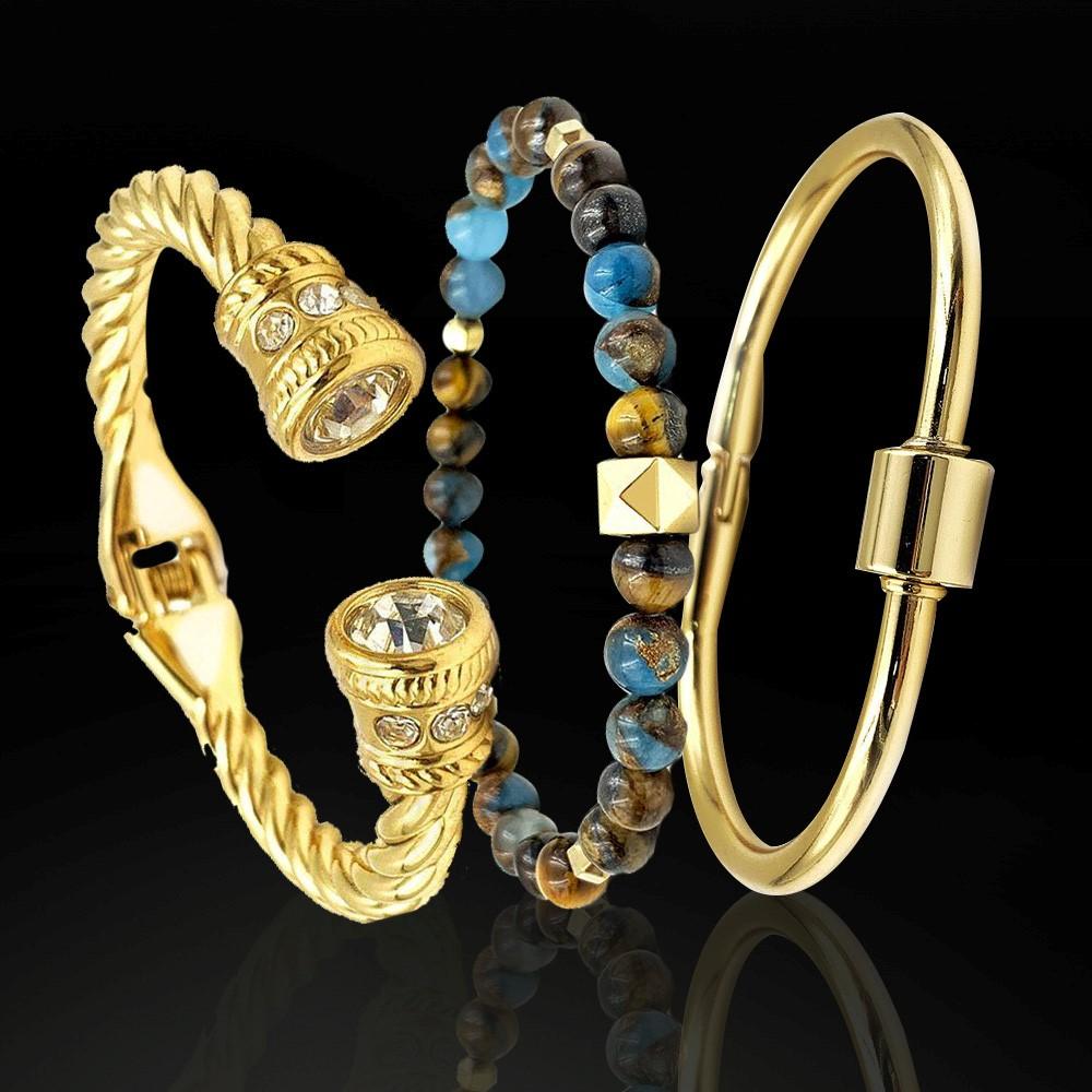 Combo Triplo Luxo Gold