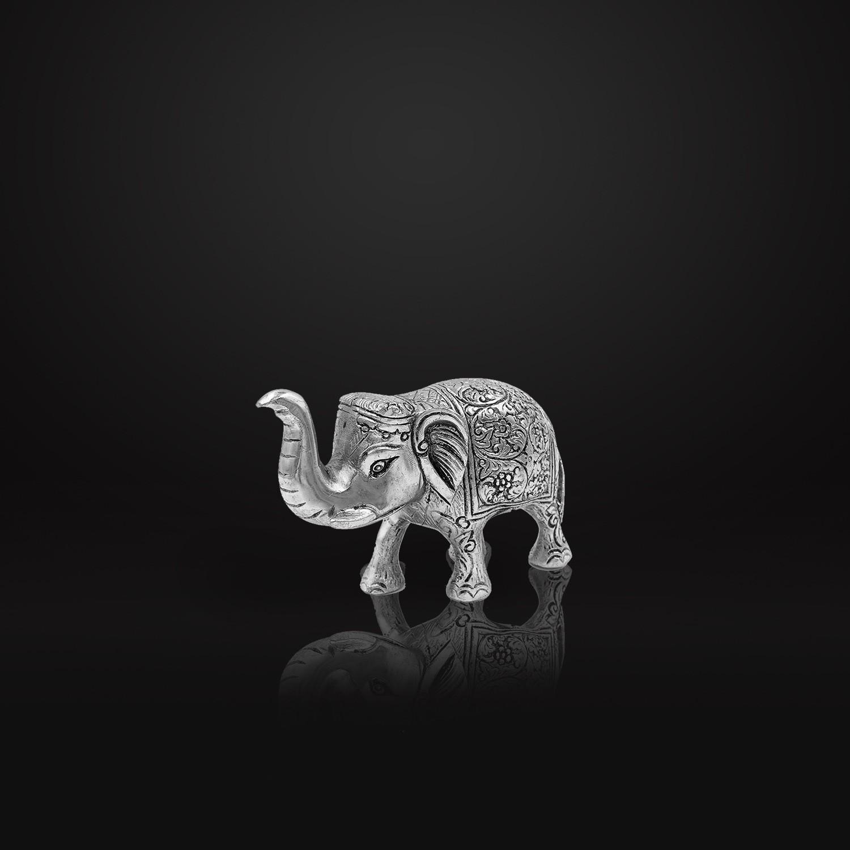Enfeite Elefante Prateado