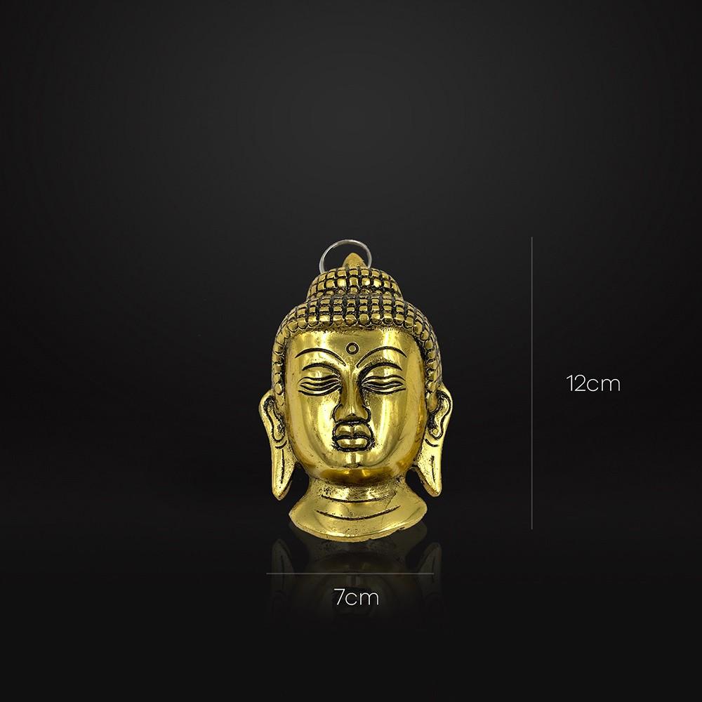 Enfeite Mini Buddha Dourado