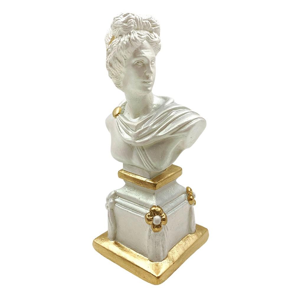 Escultura Deus Grego II Decorativa