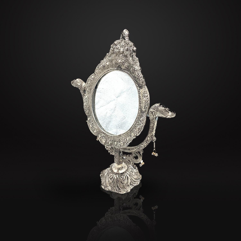 Espelho Decorativo Prateado