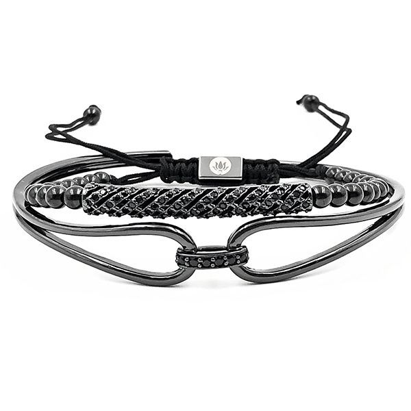 Pulseira Diamond Luxury Black