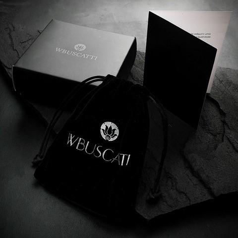 Pulseira Flat Black Leather