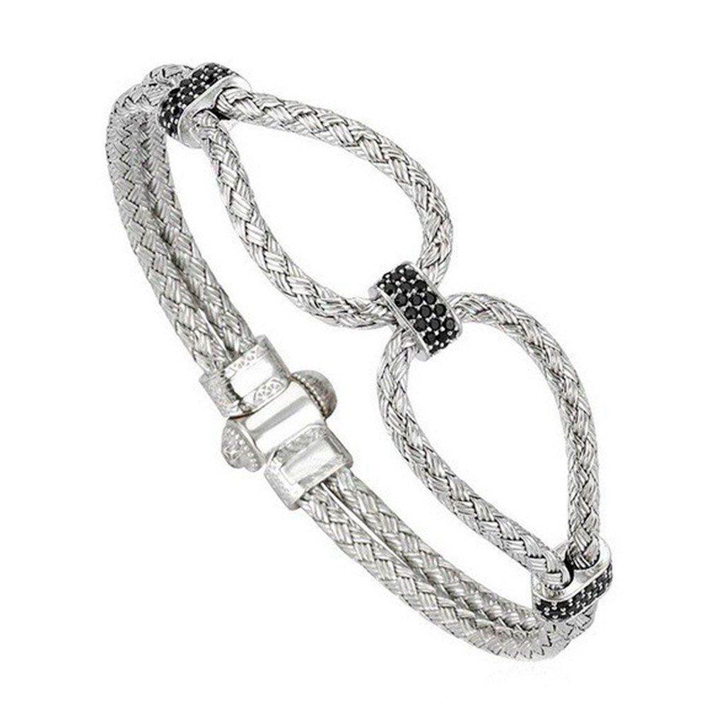 Pulseira Infinity Bangle Silver