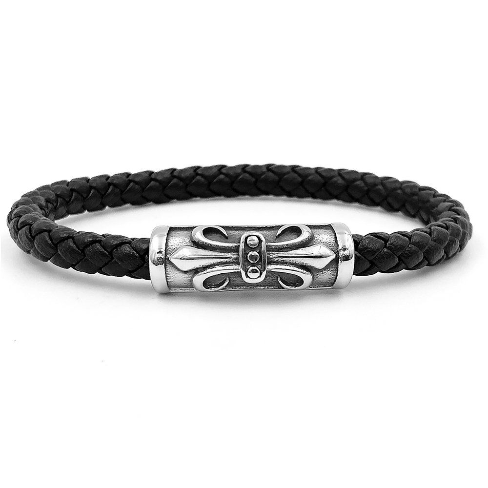 Pulseira Masculina Leather Liz Dreams