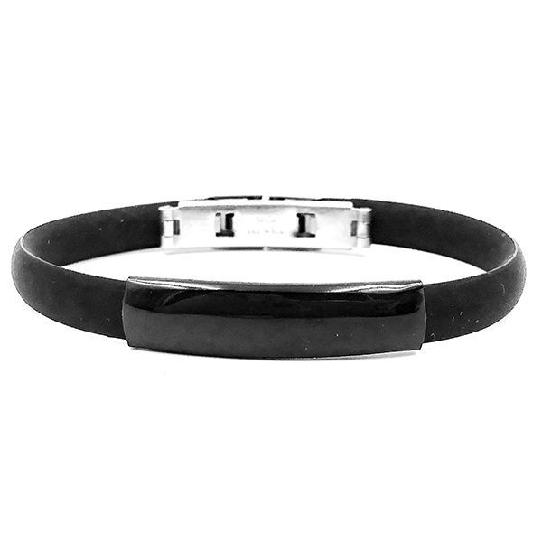 Pulseira Light Ruber Black