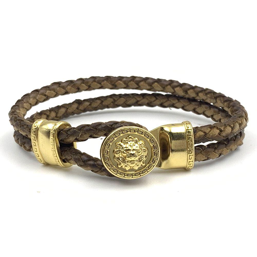 Pulseira Lion Gold