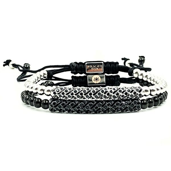 Combo Pulseira Macrame Double Diamond Luxury