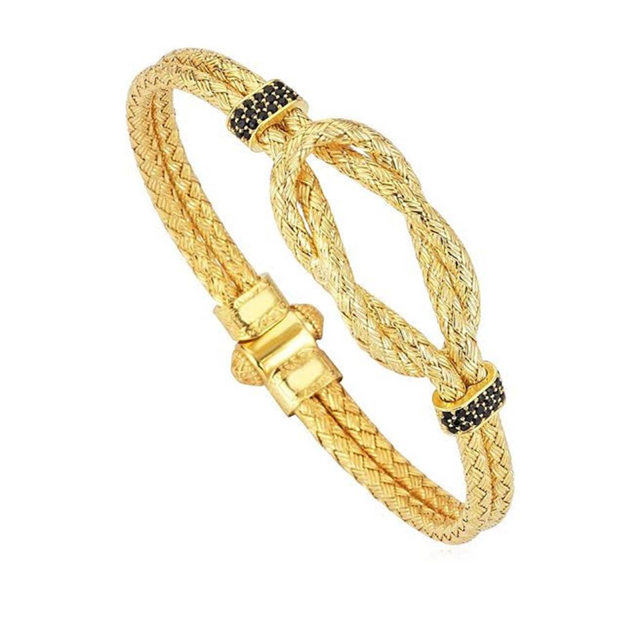 Pulseira Masculina Artillery Bangle Gold