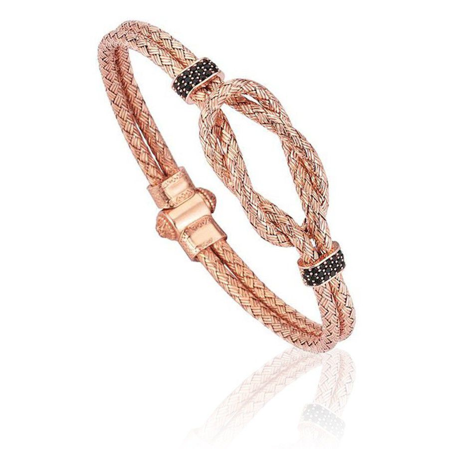 Pulseira Masculina Steel Bangle Rose