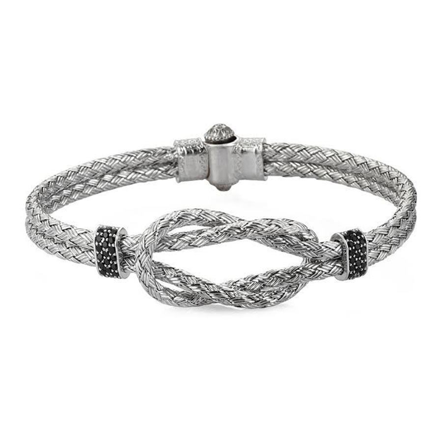 Pulseira Masculina Steel Bangle Silver