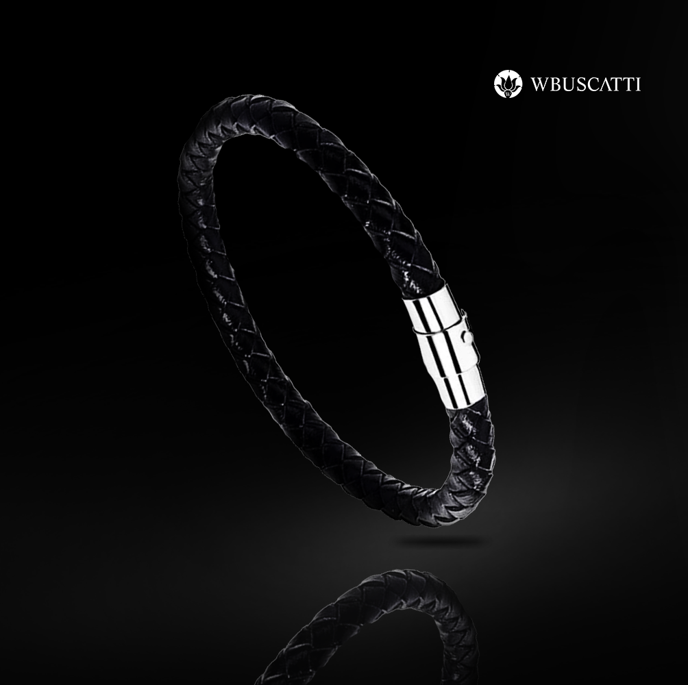 Pulseira Masculina Ebony Braid