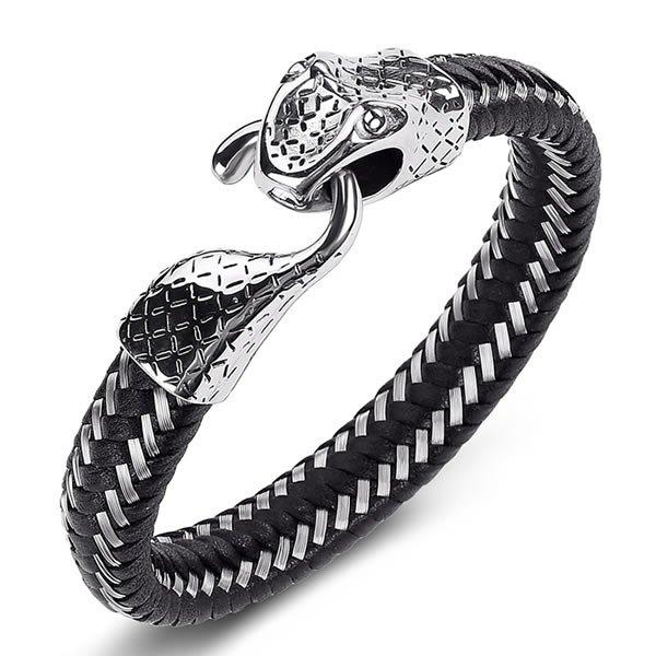Pulseira Masculina Luxury Snake