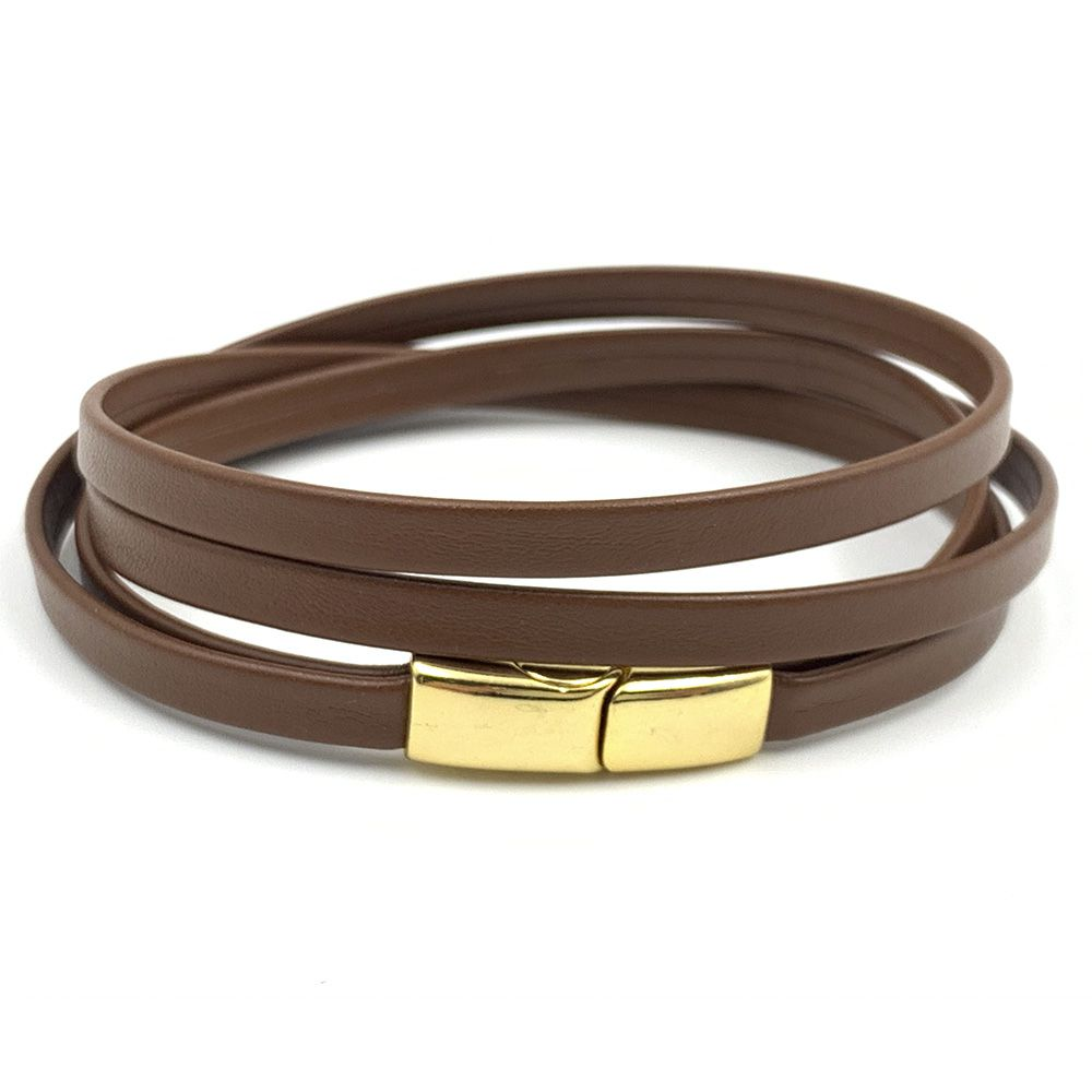 Pulseira New Chevron Brown