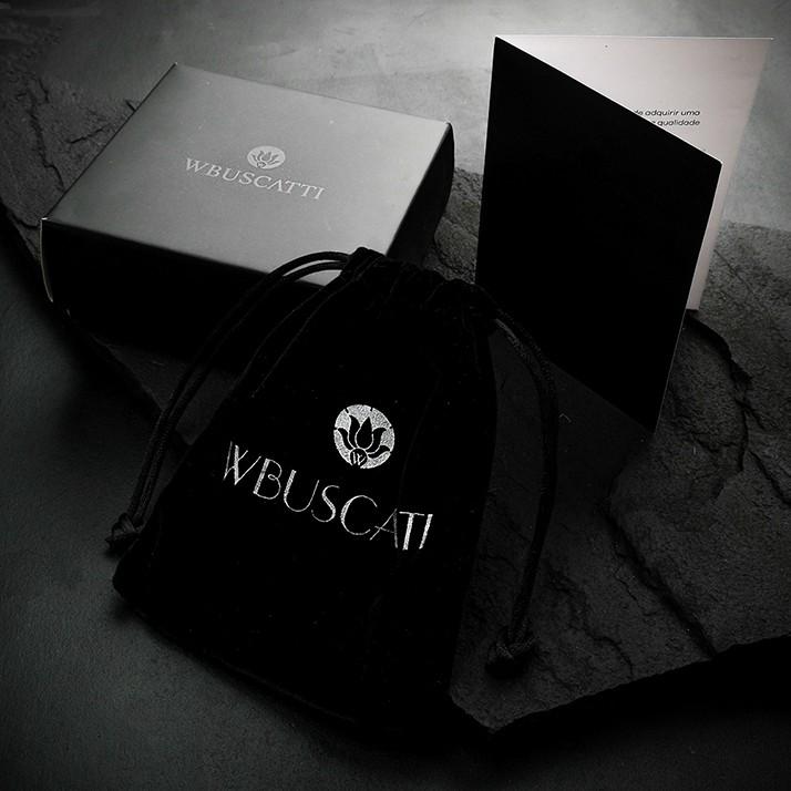 Pulseira Masculina Skull All Black Lux