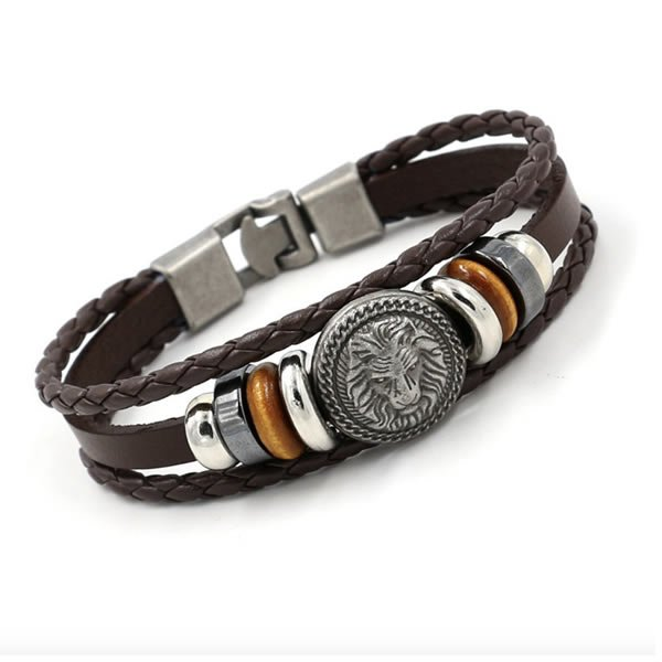 Pulseira Masculina Way Lion