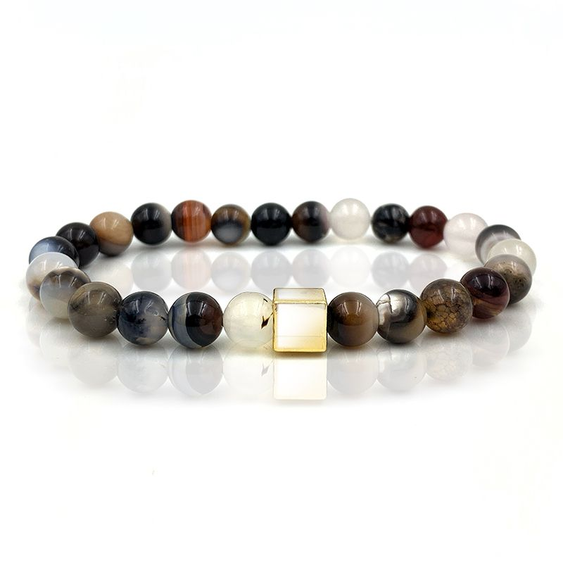 Pulseira Pedra Basic Brown