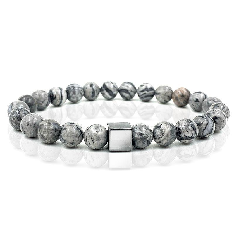 Pulseira Pedra Basic Grey