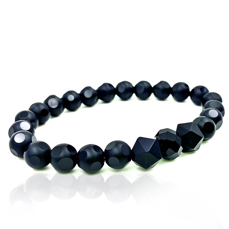 Pulseira Pedra Luxury Crystal All Black