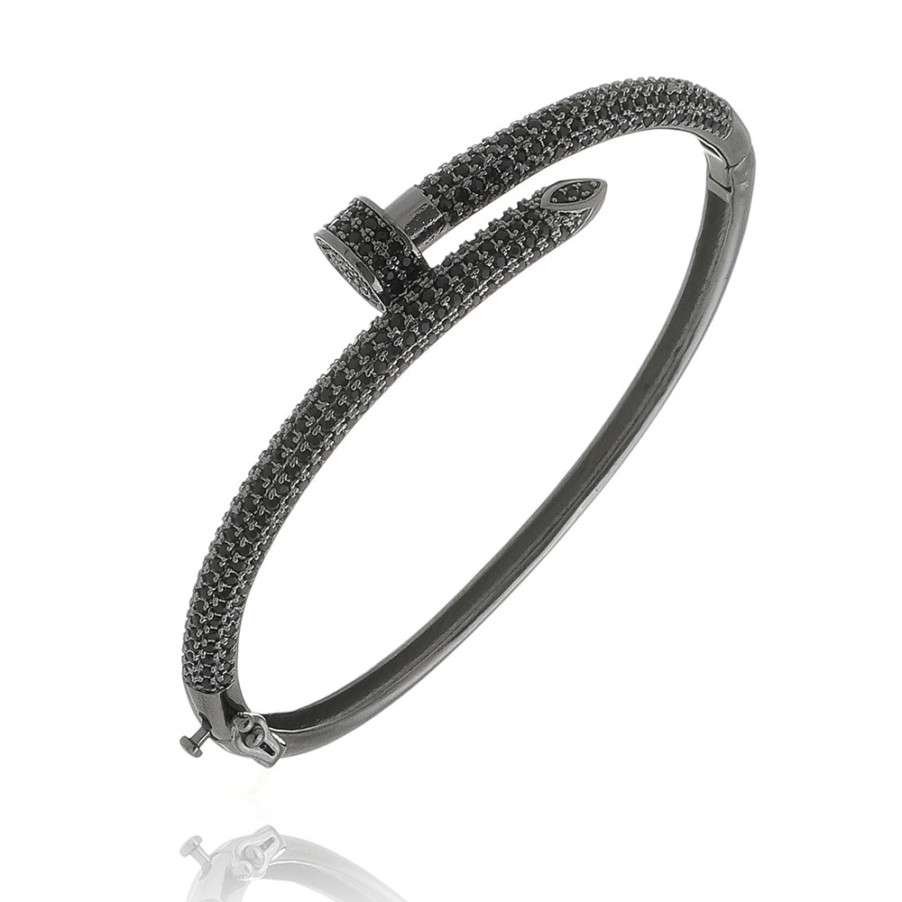 Pulseira Prego Diamonds All Black