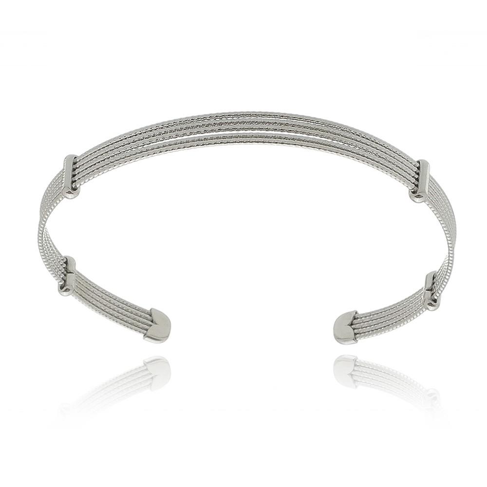 Pulseira Simple Titan Silver