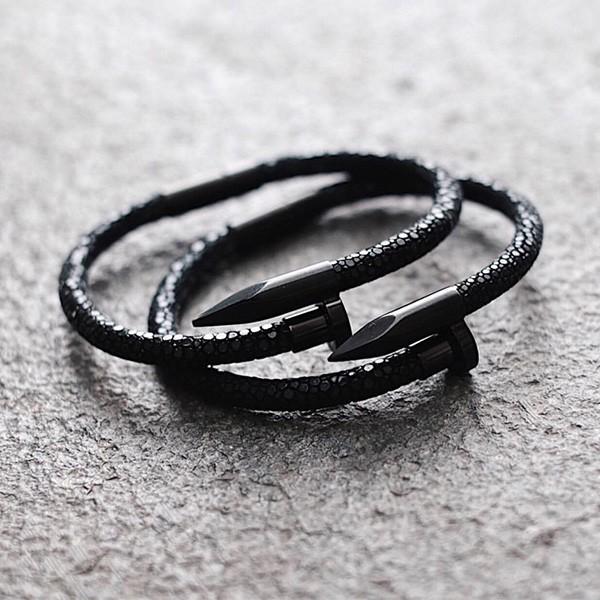 Pulseira Masculina Sting Black