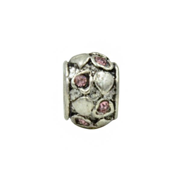 Separador Pandora Inspired  Brilho Brilhante Rosa