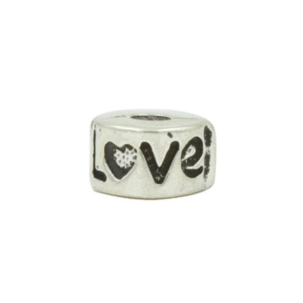 Trava Clip Pandora Inspired  Love