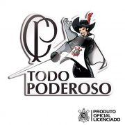 Adesivo Licenciado Corinthians Oficial - Mosqueteiro Todo Poderoso 02 - 6x8 cm