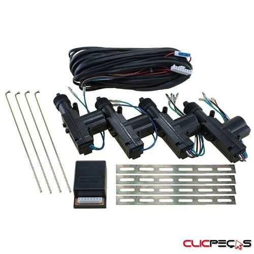 Kit De Trava Elétrica 4 Portas Universal