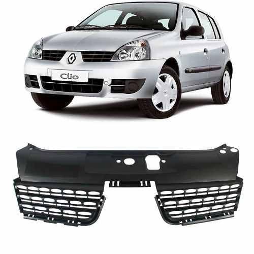Grade Clio Dianteira Do Radiador 2003 2004 2005 Renault