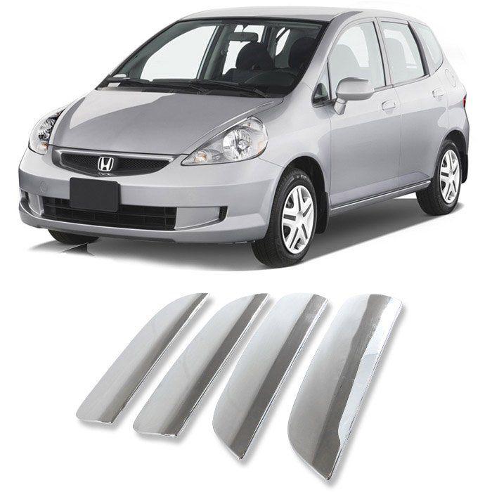 Aplique Maçaneta Cromado Civic Fit 2001 2002 2003 2004 2005