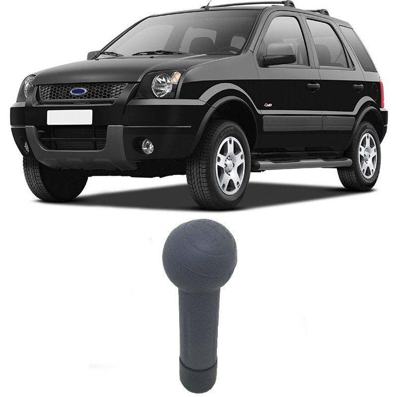 Bola Manopla Câmbio Ford Ecosport 2003 2004 2005 2006 Cinza