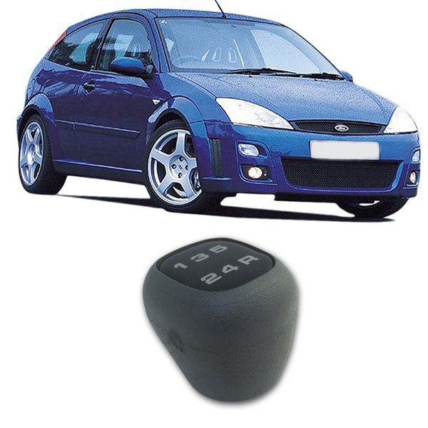 Bola Manopla Câmbio Ford Focus 2.0 2000 2001 2002 2003 Cinza