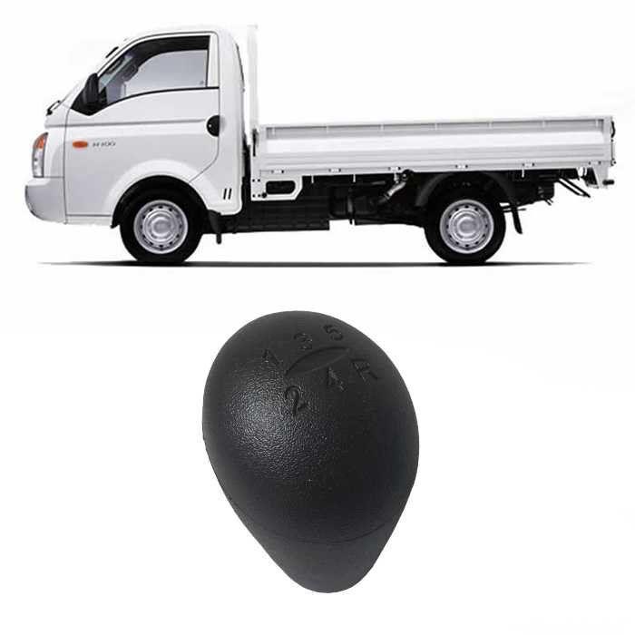Bola Manopla De Câmbio Hyundai HR 2005 2006 2007 2008 2009 2010 2011 2012 - Preta