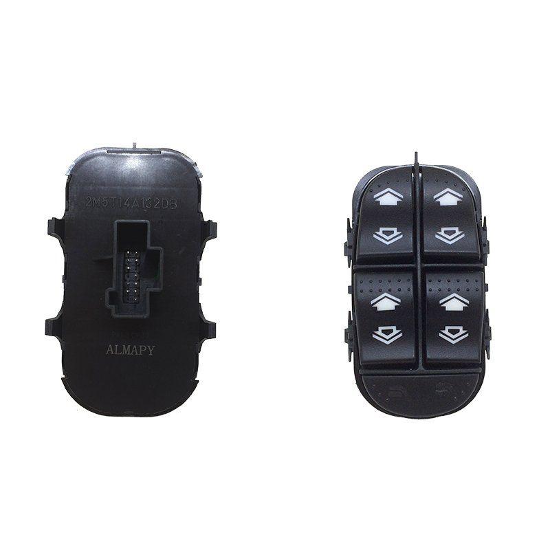 Botão Vidro Elétrico - Focus - 2000 2001 2002 2003 2004 2005 2006 2007 2008