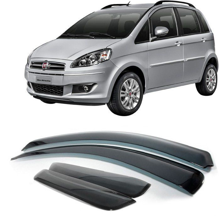 Calha De Chuva Fiat Idea 2005 2006 2007 2008 2009 2010 2011 2012 2013 2014 2015